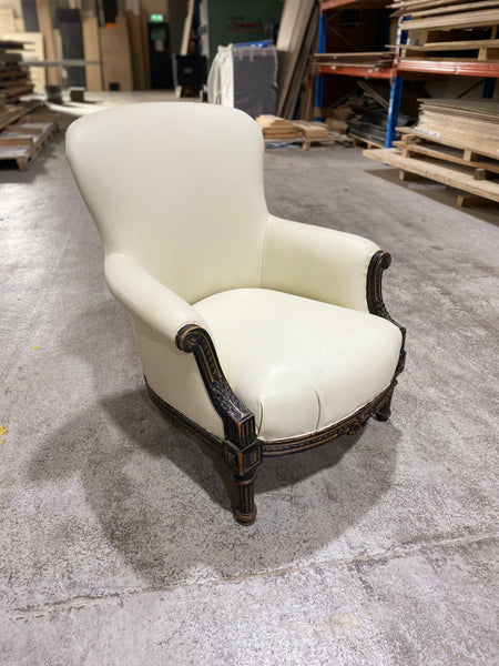 A fine early 19thC Armchair - restored and as yet undyed