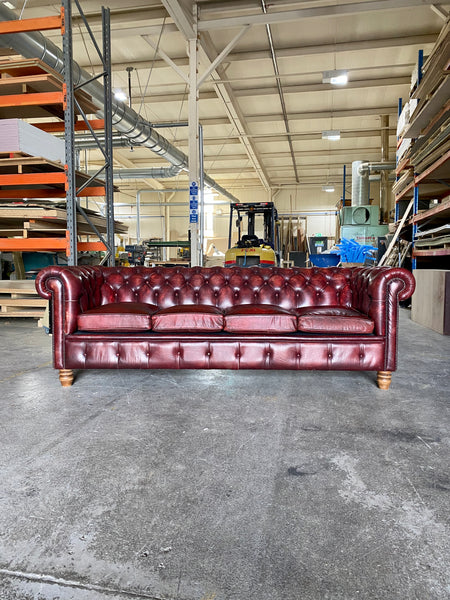 A Great 4 Seat Chesterfield in Excellent Condition