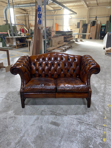 A Very Smart and Neat Chippendale Camel Back Sofa