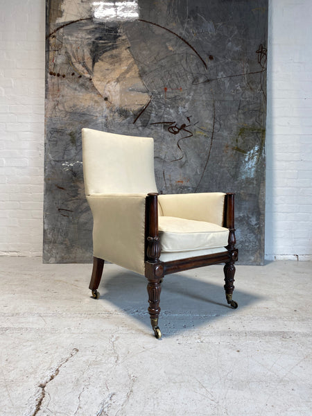 Restored - A Fine and Well Proportioned William IV Gentleman's Library Chair