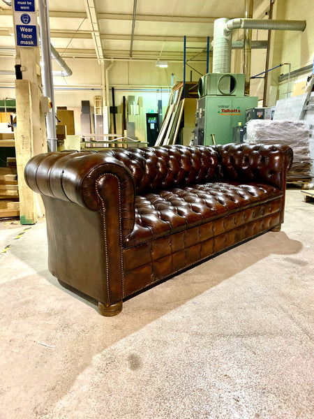 A Very Good MidC Vintage Chesterfield