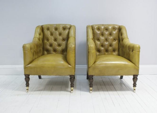 THE CANNING ARMCHAIR : GOLDEN TAN