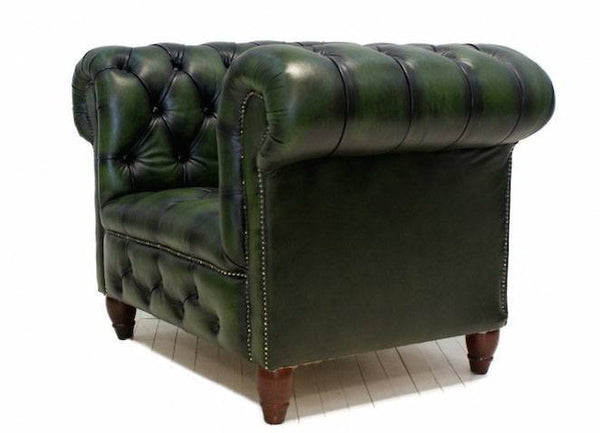 CLUB CHAIRS WITH MATCHING FOOTSTOOL