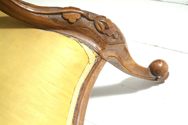 Wooden Legs on Antique Chair