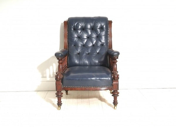 Antique formal chair