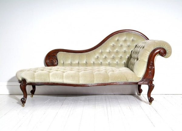 19th Century Antique Chaise
