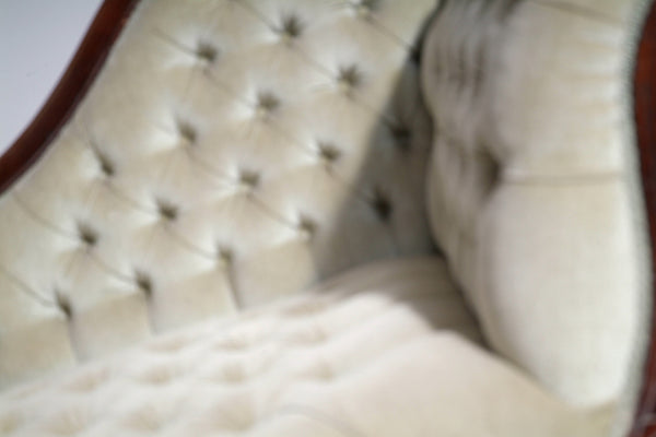 Close up of 19th Century Antique Chaise