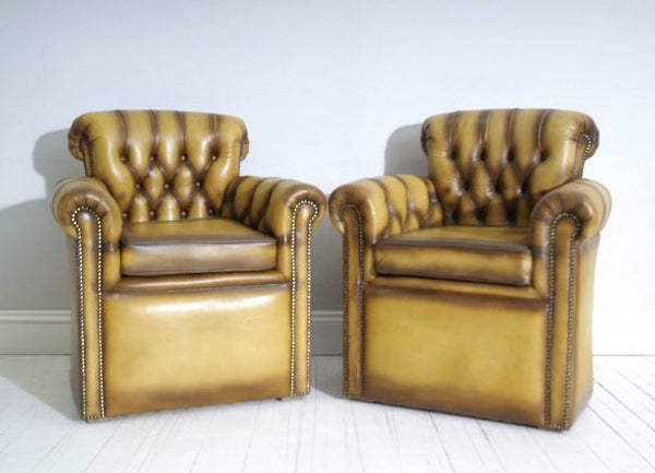 BESPOKE SIDE CHAIRS : GOLDEN TAN