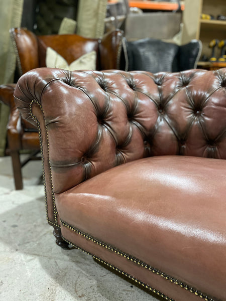 Fully Restored 19thC Victorian Chesterfield Sofa