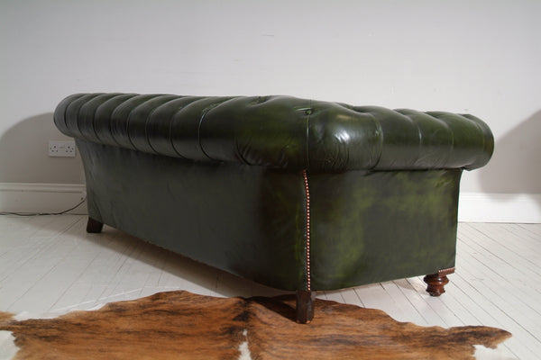 RESTORED ANTIQUE CHESTERFIELD : CIRCA 1880