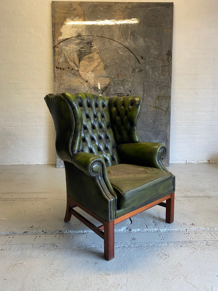 A HUGE Gentleman's Wing Back Chair