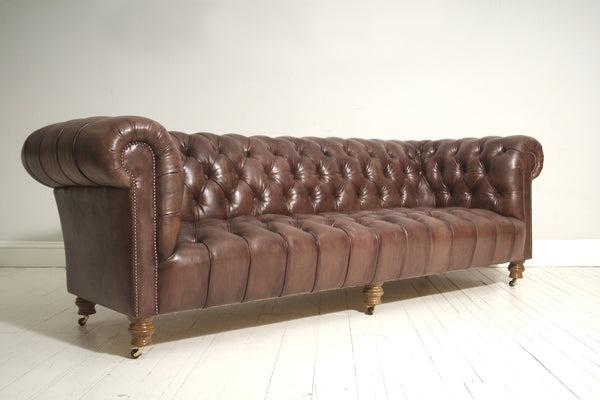 Ex-Display SALE - Hand Dyed Leather 5 Seater