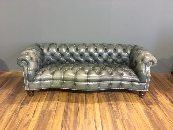 Ex-Display Sale - Maria Chesterfield in Elephant Grey