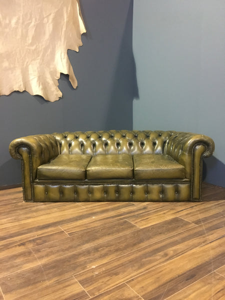 A really Cool Khaki Green Sofa