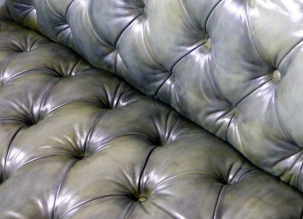 THE WILMINGTON CHESTERFIELD SOFA: OLIVE GREEN