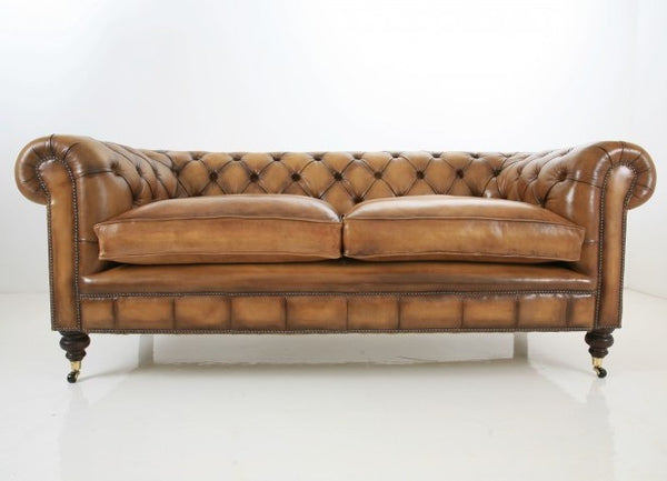 WILMINGTON SOFA : RICH GOLDEN TAN