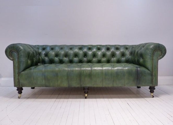 MILENA SOFA : COUNTRY GREEN