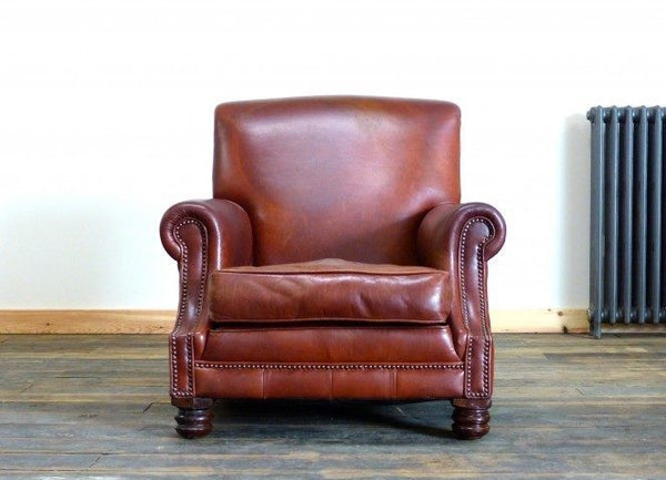 THE WESTMINSTER ARMCHAIR : BURNT TAN