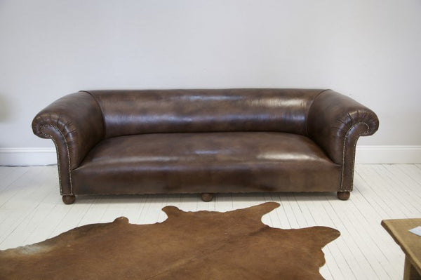 THE GODERICH SOFA IN BROWN