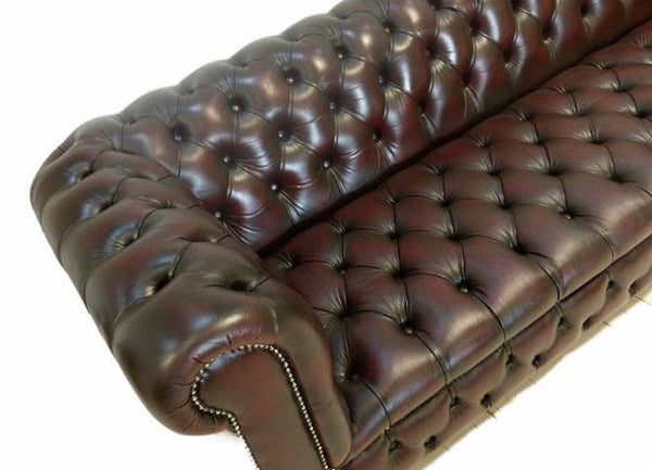 TRADITIONAL FOUR SEAT CHESTERFIELD