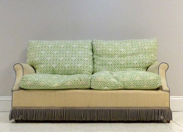 ORIGINAL 20TH CENTURY HOWARD & SONS SOFA TO BE RESTORED