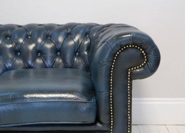 BEAUTIFULLY RESTORED THREE SEAT CHESTERFIELD