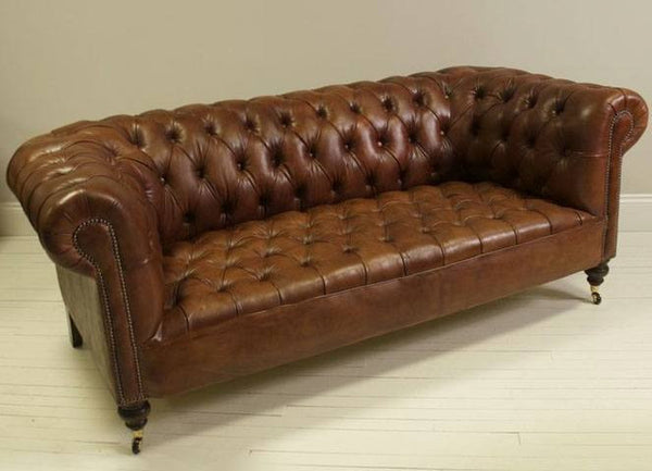 The Wilmington Sofa – Chestnut Brown