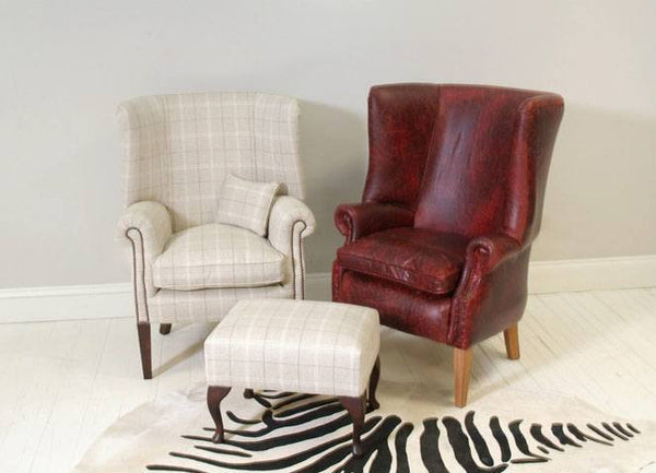 Half Porters Chair – Colefax & Fowler Hemsby Check