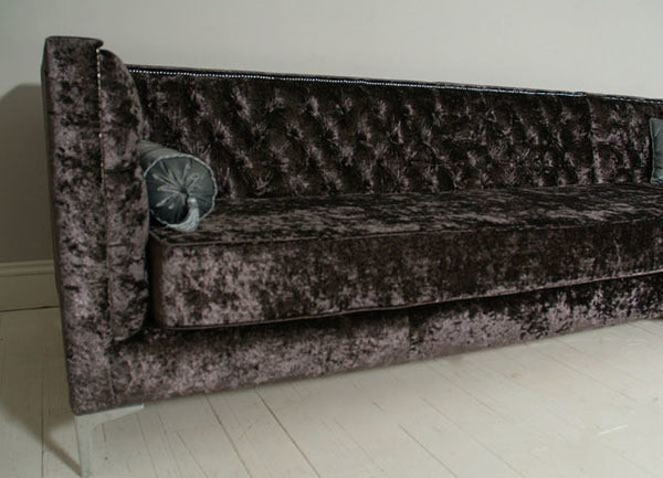 The Annabel Corner Chesterfield Sofa – Crushed Velvet