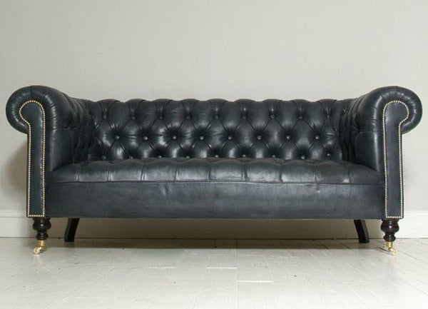 THE WILMINGTON ELEPHANT GREY CHESTERFIELD SOFA