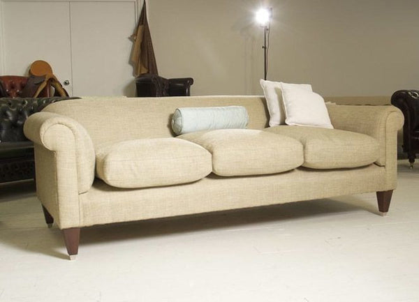 CHATHAM LOW BACK SOFA: COLEFAX & FLOWER LINEN