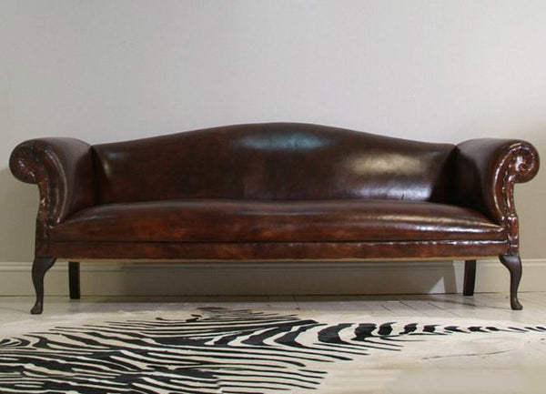 SofaHand Leather Chippendale Rockingham Walnut Dyed 1luFc5KTJ3
