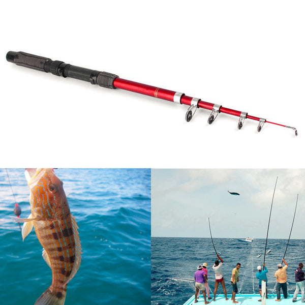Lightweight Portable Fishing Rod