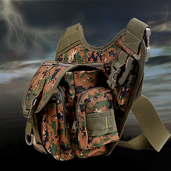 Hanging Waterproof Waist Tackle Bag