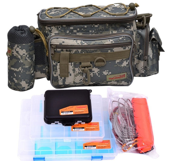 Multi-Functional Fishing Bag Combo