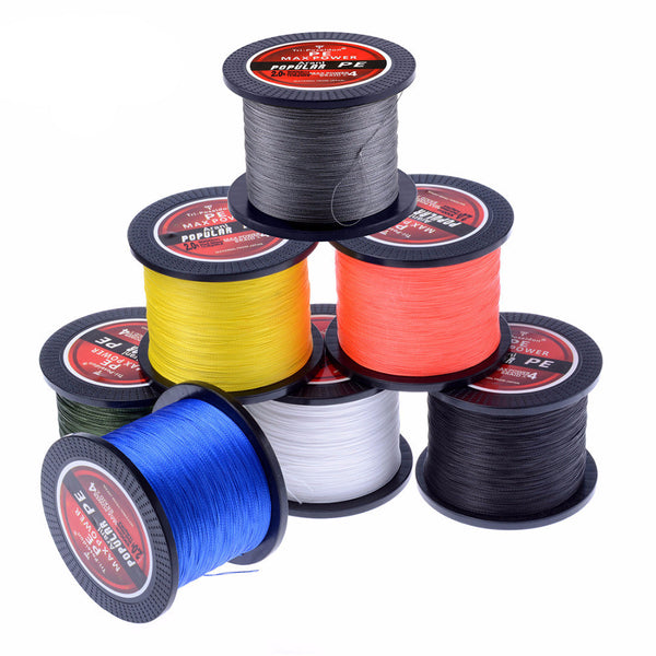 Tri-Poseidon Series 1000M Super Strong Braided Fishing Line