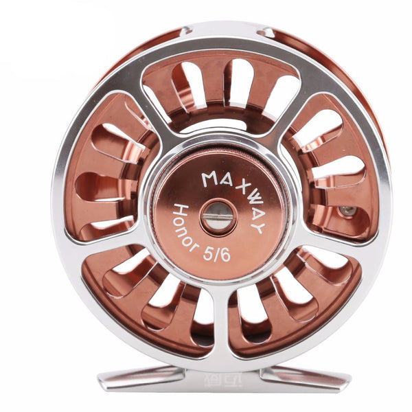 MAXWAY Honor Series 3BB 135g Full Metal 5/6# Fly Fishing Reel