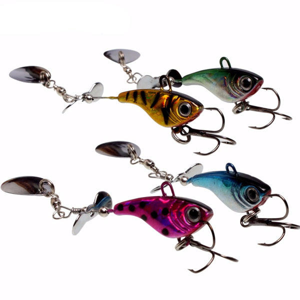 12PCS Metal Fishing Lures