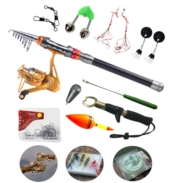 Fishing Accessories Rod and Reel Super Combo