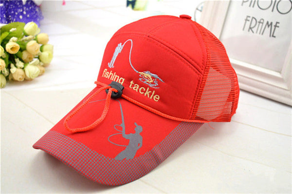 Sports Breathable Fishing Cap