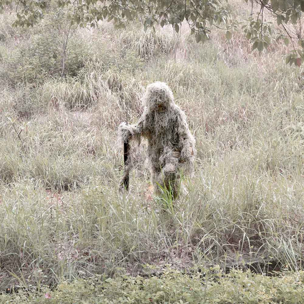 Woodland Snipers Hunting Camouflage Ghillie Suit