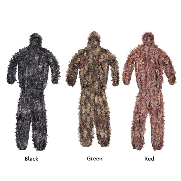 Military Style Tactical Camouflage Ghillie Suit