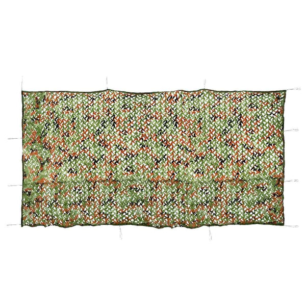 Military Grade Jungle Camouflage Net 2x4 M