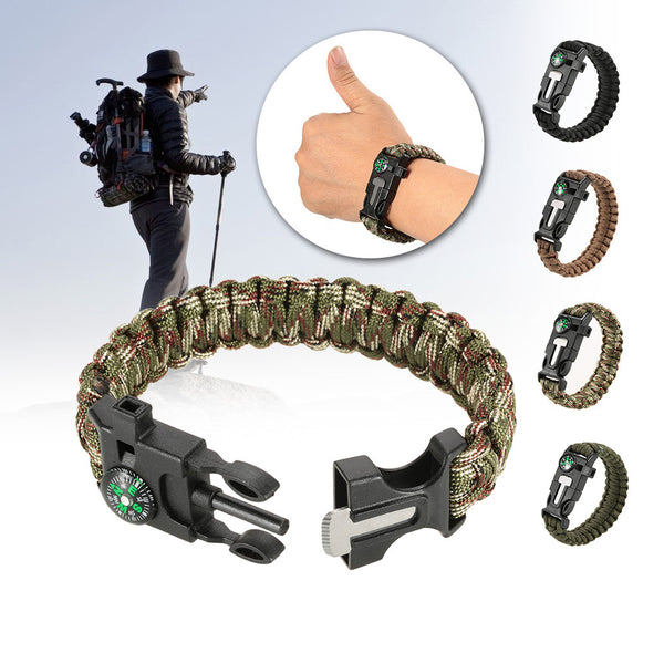 5 in 1 EDC Survival Paracord Bracelet