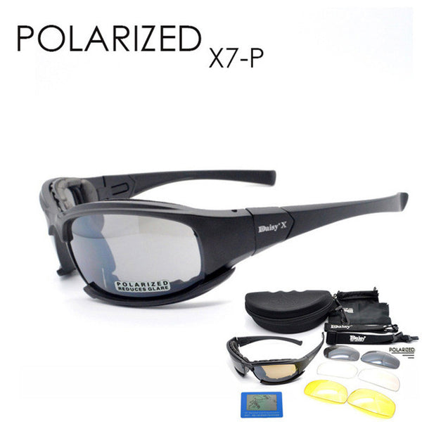 Tactical Men DAISY X7 Multi-Sports Hunting and Fishing Sunglasses