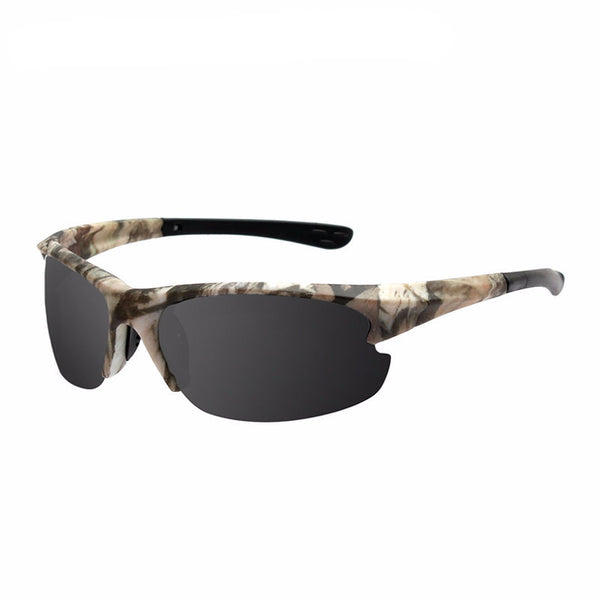 Men CAMO Vintage Sport Polarized Sunglasses