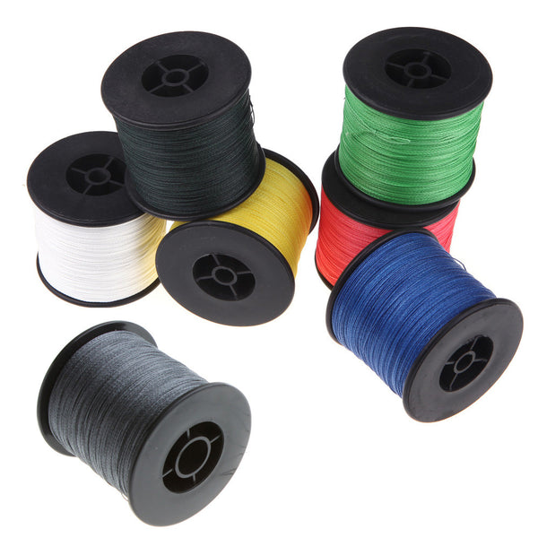 4 Strands 500M 100LB 0.5mm Super Strong Braided Fishing Line