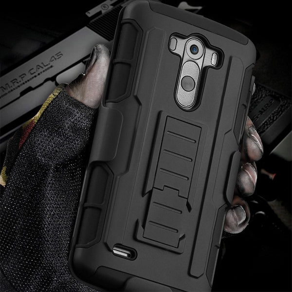Heavy Duty Hybrid Case For iPhone and Samsung Galaxy Phones