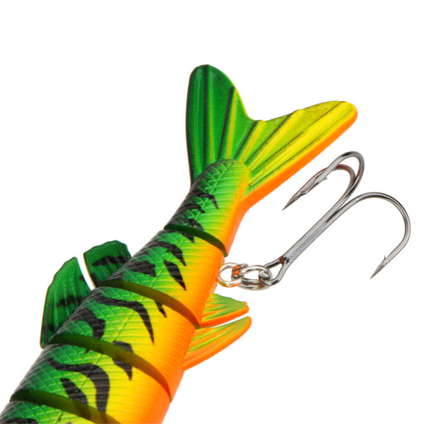 20CM Multi-jointed Pike Swim-bait Fishing Lure