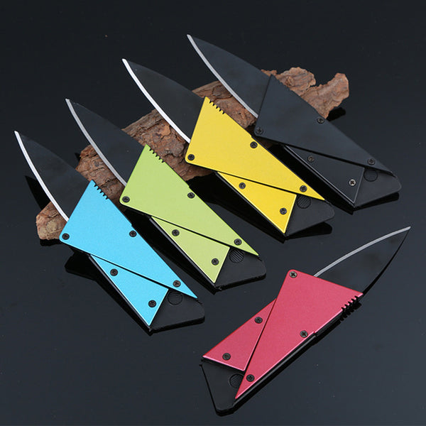 Multi-Purpose Mini Credit Card Wallet Knife